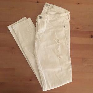 Abercrombie White Jeans